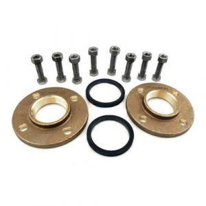 "Bronze Flange Set (1 1/2"" BSPF) for UPS 40-50FN, 40-80F and UP40FB Hot Water Circulators"