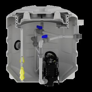 Saniflo Sanifos 610 2 VX SP S Underground Automatic Lifting Station 240v