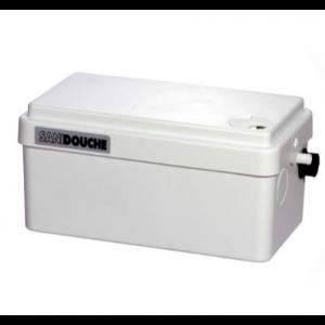 Saniflo Sanishower + Domestic Sanitary Pump for Shower, Hand Basin and Bidet 240V