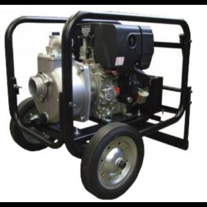 "Koshin SE-50XDHES - 2"" Inch Diesel Powered Centrifugal Electric Start Pump with Wheel Kit"