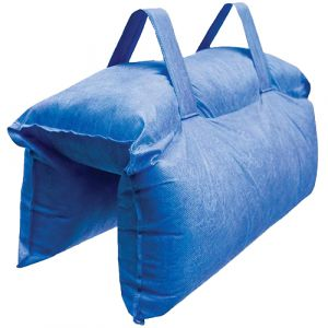 HydroSack Water Reactive Temporary Flood Barrier (Pk of 2)
