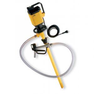 Lutz Drum Pump Set for Acids MAll3 110v Motor 1200mm Immersion Depth