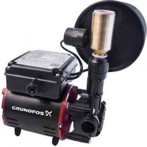 Grundfos SSR2-2.0 CN Single Impeller Universal Regenerative Shower Booster Pump (x2 Hoses Inc.)