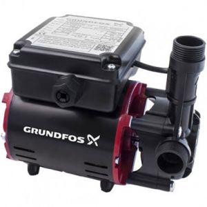 Grundfos SSR2-2.0 C Single Impeller Regenerative Shower Booster Pump (x2 Hoses Inc.)