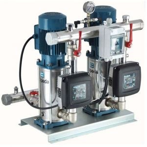 Calpeda MXV-B twin pump set with Easymat controller