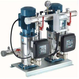 Calpeda Easymat 2MXV-B25-208-EMT-24 Variable Speed Twin Pump Booster Set 240V