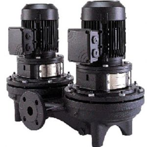 TPD Single Stage Dual Head In Line Pumps 2 Pole 415V