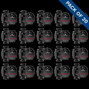 Grundfos UPS3 15-50/65 (130) Domestic Heating Circulator 240V Trade Pack of 20